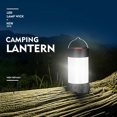 Camping Lantern LED Lamp COB Light Mini Portable Magnetic Light USB Chargeable - Mini Lantern