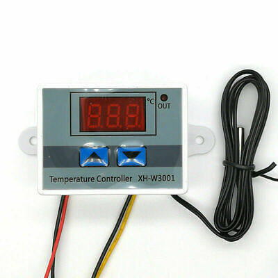 Incubator Digital Temperature Controller Thermostat Control Switchprobe Sv