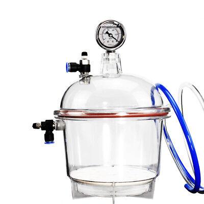 150mm Polycarbonate Plastic Vacuum Dryer Laboratory Dessicator Dryer Y