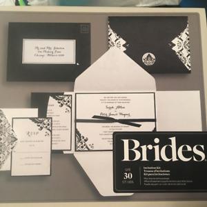 Wedding Invite Kits & Thank you Cards