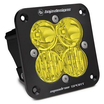 Baja Designs Squadron Sport Flush Mount UTV LED Light Driving Combo Amber
