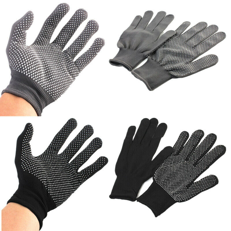 2x Heat Proof Resistant Protective Gloves for Hair Styling S