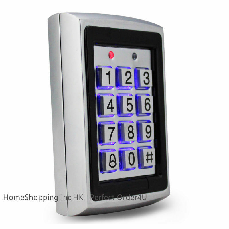 New 125KHz RFID Card and Password Security Door Lock Access Control Keypad