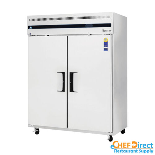 """Everest Eswf2 59"""" Two Door Reach-in Freezer"""