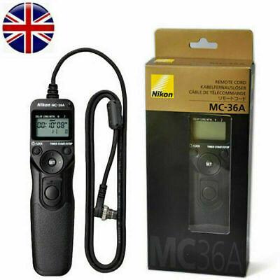 Nikon MC-36A Mutil-Function Remote Shutter Cord Control For Select Nikon DSLR R