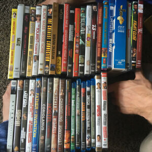 39 assorted movies