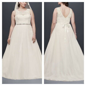 Ivory Wedding Dress (Size 24)