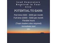 Commission based job £50-5000