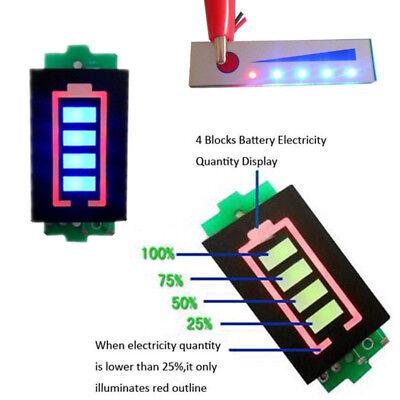 Battery Meter (1-7S Lithium Battery Capacity Indicator Module Li-ion Power Level Tester Meter)