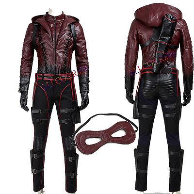 Popular Green Arrow Roy Harper Red Battleframe Cosplay Costume Custom Made Suit - Arrow Suit