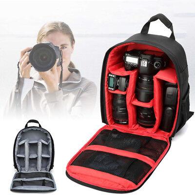 Universal Profi Kameratasche Fototasche SLR DSLR Rucksack Für Canon Nikon Sony Sony Wasserdichte Kamera