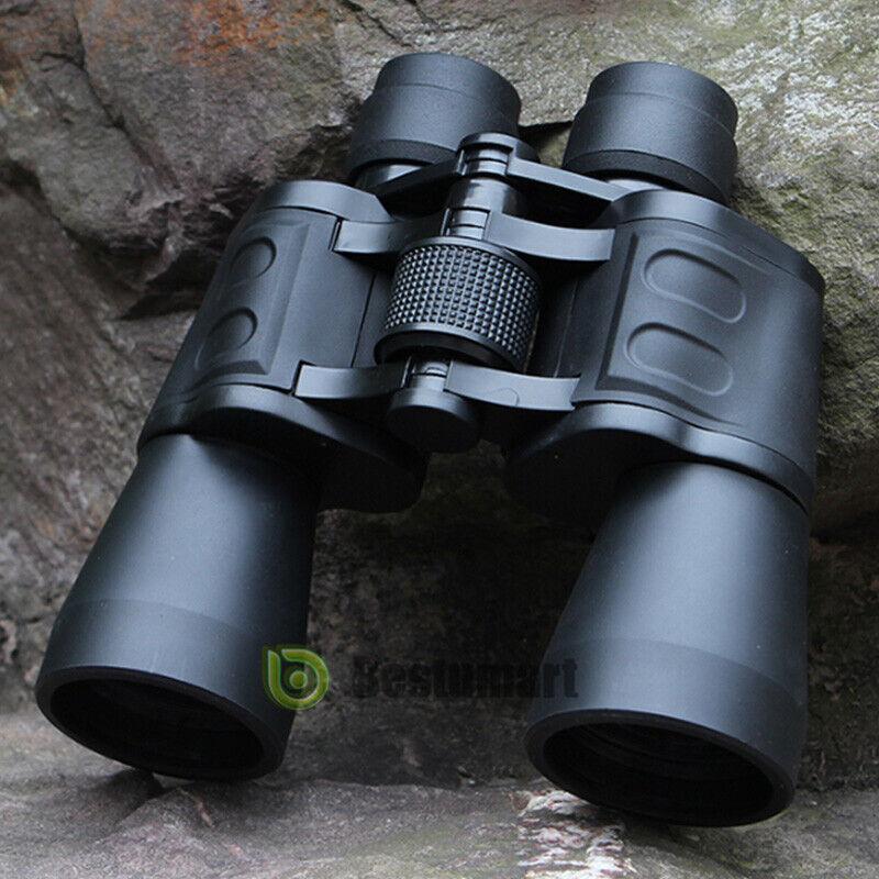 100x180 Outdoor Day&Night Military Army Zoom Binoculars Optics Hunting Camping