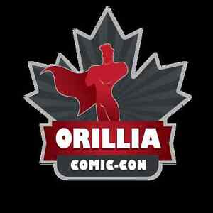 Orillia Comic-Con - Vendors, Sponsors & Artists Sign Up Today!