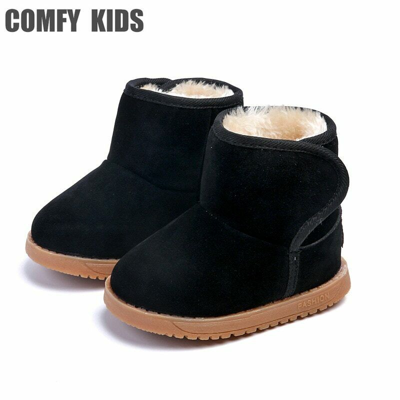COMFY KIDS Snow Boots Shoes For Baby girls boys snow boots shoes fashion warm
