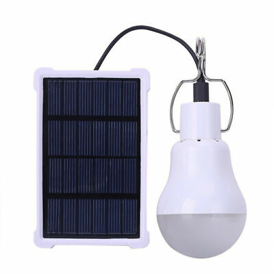 1~5x Portable Solar Powered LED Rechargeable Bulb Light Outdoor Camping Lamp (1 Light Outdoor Lamp)