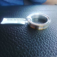 new stainless steel ring