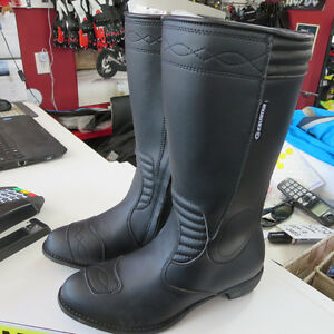 Ladies Exustar Sport Tour Mid Calf Motorcycle Boots Brand New