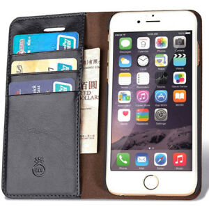 Brand New iPhone 7 Leather Wallet Phone Case with Slim Flap Cove