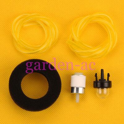 Fuel filter Primer bulb for Craftsman 316.292620 2-Cycle Mini-Tiller Cultivator (2 Cycle Mini Tiller)