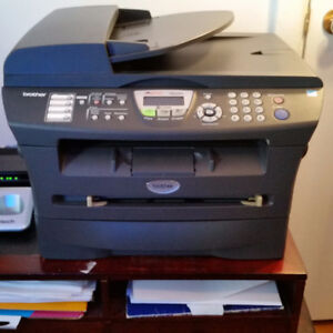 Brother all-in-one printer-scanner-fax MFC 7820N with new toner
