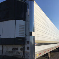 2000 UTILITY REEFER WITH 2006 CARRIER UNIT