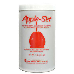 Apple-Set - 1 LB (454 g) Container - GM4175
