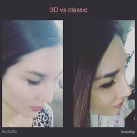 Experienced cetified eyelash extension, Miro blading brow tec