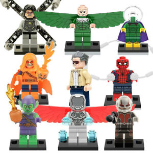 Marvel Spiderman & Friends Minifigures (9pc) *New*