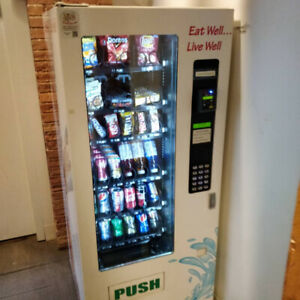 MAX COMBO HEALTHY VENDING MACHINES FOR SALE !!!