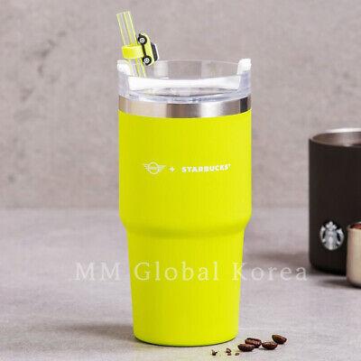 Starbucks 2021 Summer MINI SS Stanley Quencher Lime Tumbler 591ml Limited Korea