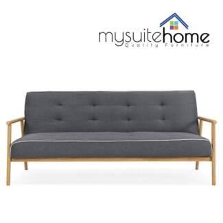 Charlotte Simple Design Sofa Bed Wood Frame