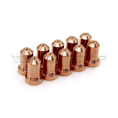 10pcs Plasma Cutter Torch Nozzle Kp2843-2 40amp For Lincoln Tomahawk 625 Lc40