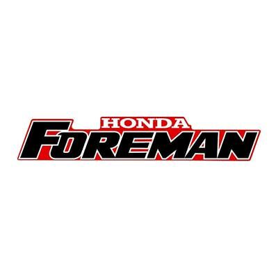 Honda Quad Foreman Tank Sticker 300mm White/Red/Black