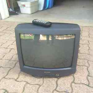 Free 18 inch Sharp TV with remote