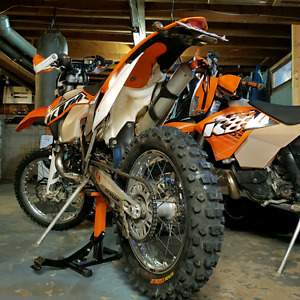 Ktm 300 xcw street and trail