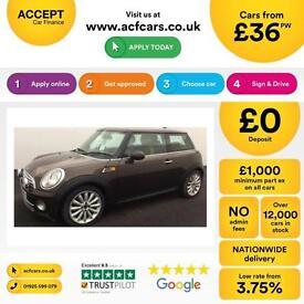 Mini Mini 1.6TD Cooper D Mayfair FROM £36 PER WEEK !
