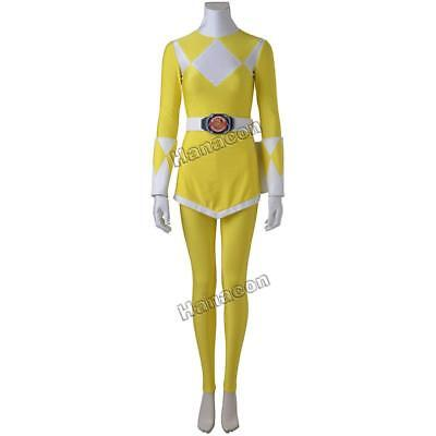 Zyuranger Tiger Ranger Cosplay Costume Jumpsuit Yellow Suit Halloween Outfit](Tiger Suit Halloween)