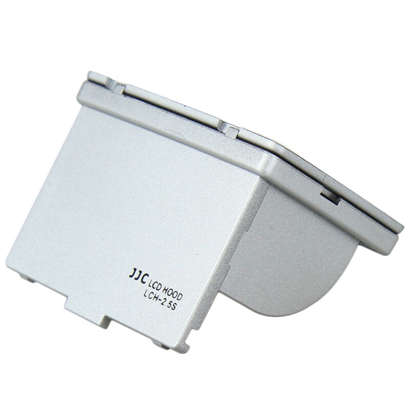 JJC Silver LCH-2.5S Universal LCD Hood 2.5 for 2.5inch LCD Screen Display Camera
