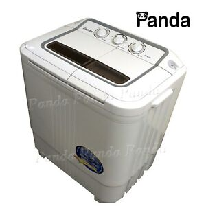 Panda Portable Small Compact Washing Machine Washer  Spin Dryer XPB36 with pump