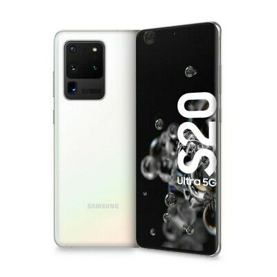 Samsung Galaxy S20 ULTRA 5G G988B 12GB+128GB ITALIA Dual Sim o esim Cosmic White