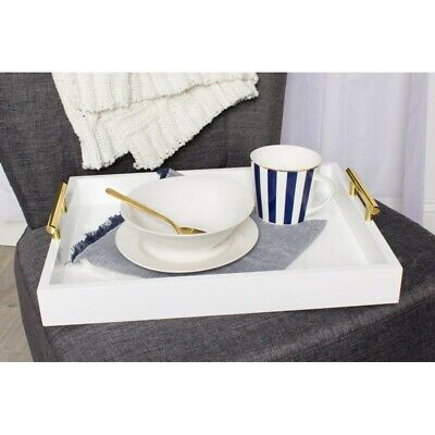 Hepner Tray Bring contemporary glam style into your home with the decorative
