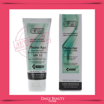 GlyMed Plus Age Management Photo-Age Protection Cream 15 2oz NEW FAST SHIP