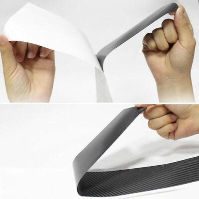 4x Accessories Car Stickers Carbon Fiber Vinyl Auto Threshold Anti Scratch Cover