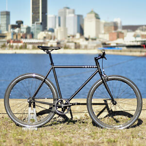 Fixed gear/single speed's for sale 389$, free shipping in Canada