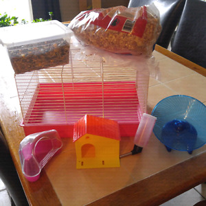 Kit complet pour hamster
