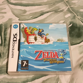 Nintendo DS The Legend Of Zelda Phantom Hourglass