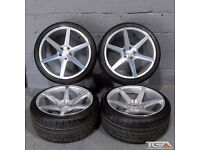 """19"""" OEMS IFG3 Alloy Wheels Ex Stock will fit VW Passat, Scirocco, Audi A4 ETC"""