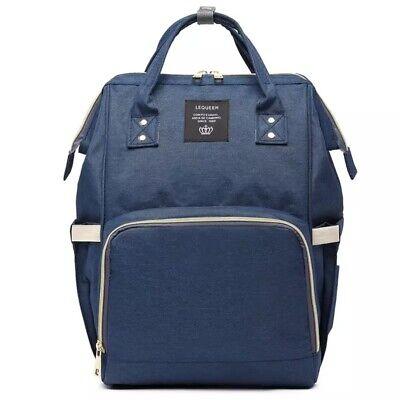 Mummy Diaper Nappy Bag Mom Maternity Baby Travel Backpack Handbag Large