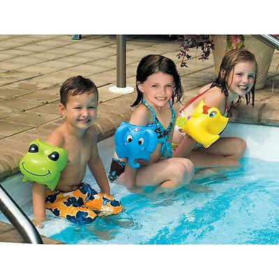 Swimline Animal Arm Bands SWIM FLOATS Learn to Swim Floaties wings CHOOSE - Animal Floaties