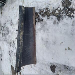 Bombardier Snow Plow